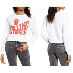 NWT - Day Rolling Stones Long Sleeve Graphic Tee